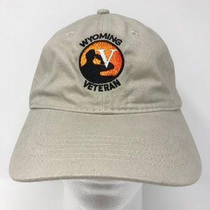 Wisconsin Veteran Baseball Hat Cap Port & Company